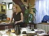 Horny MILF Fucked Hard In Kitchen
